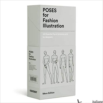 Poses for Fashion Illustration - Mens (Card Box) -