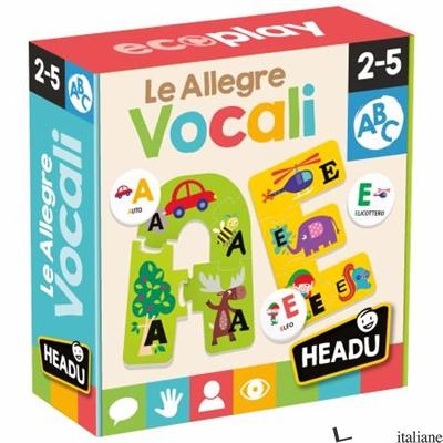 ALLEGRE VOCALI (LE) 2-5 ANNI. SCATOLA GIOCO. IT25398 -
