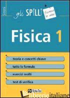 FISICA. VOL. 1 - CORAZZON PAOLO; BERTOCCHI STEFANO