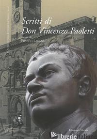SCRITTI DI DON VINCENZO PAOLETTI - LAGANA' FRANCO