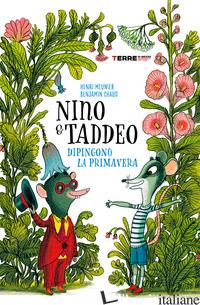NINO & TADDEO DIPINGONO LA PRIMAVERA - MEUNIER HENRI