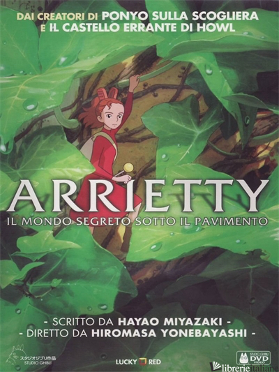 ARRIETTY. DVD - YONEBAYASHI HIROMASA