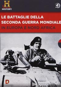 BATTAGLIE DELLA SECONDA GUERRA MONDIALE IN EUROPA E NORD AFRICA. DVD (LE) -