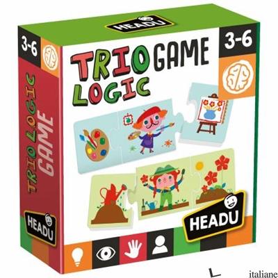 TRIO LOGIC GAME PUZZLE 3 PEZZI 3-6 ANNI - AAVV