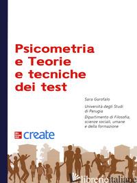PSICOMETRIA E TEORIE E TECNICHE DEI TEST -