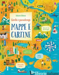 MAPPE E CARTINE. GIOCHI E PASSATEMPI - REYNOLDS EDDIE; STOBBART DARRAN; AKPOJARO JORDAN; MACLAINE J. (CUR.)