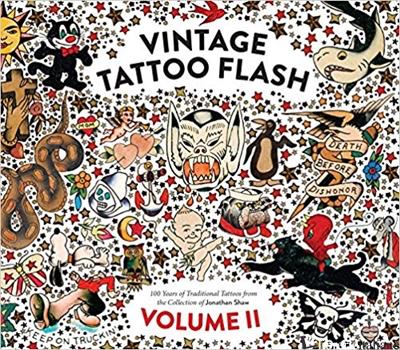 Vintage Tattoo Flash Volume 2 - SHAW, JONATHAN