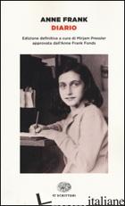 DIARIO - FRANK ANNE; FRANK O. (CUR.); PRESSLER M. (CUR.); SESSI F. (CUR.)