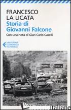 STORIA DI GIOVANNI FALCONE - LA LICATA FRANCESCO
