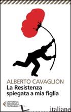 RESISTENZA SPIEGATA A MIA FIGLIA (LA) - CAVAGLION ALBERTO