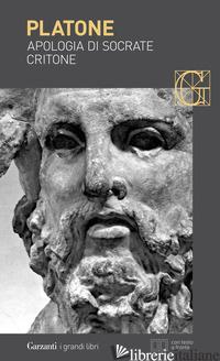 APOLOGIA DI SOCRATE-CRITONE. TESTO GRECO A FRONTE - PLATONE; MARZIANO N. (CUR.)