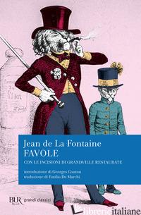 FAVOLE - LA FONTAINE JEAN DE