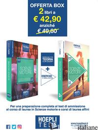 HOEPLI TEST. SCIENZE MOTORIE. BOX TEORIA + ESERCIZI PER I CORSI DI LAUREA IN SCI - AA.VV.
