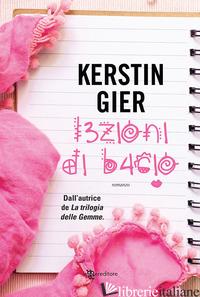 LEZIONI DI BACIO - GIER KERSTIN
