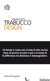 DESIGN - TRABUCCO FRANCESCO