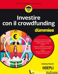 INVESTIRE CON IL CROWDFUNDING FOR DUMMIES - FIORINI ANDREA