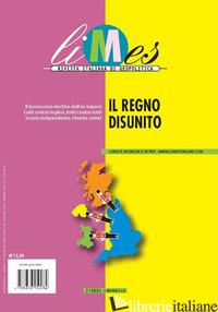 LIMES. RIVISTA ITALIANA DI GEOPOLITICA (2021). VOL. 7: IL REGNO DISUNITO - AA.VV.