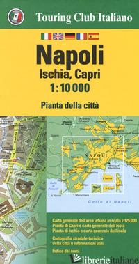 NAPOLI, ISCHIA, CAPRI 1:10.000 -