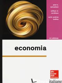 ECONOMIA - SAMUELSON PAUL A.; NORDHAUS WILLIAM D.; BOLLINO CARLO A.