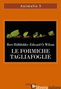 FORMICHE TAGLIAFOGLIE. LA CONQUISTA DELLA CIVILTA' ATTRAVERSO L'ISTINTO (LE) - HOLLDOBLER BERT