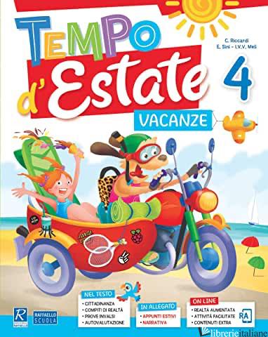 TEMPO D'ESTATE. PER LA 4ª CLASSE ELEMENTARE - AA VV
