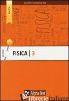 FISICA. VOL. 3 - CORAZZON PAOLO; SIRONI ALBERTO