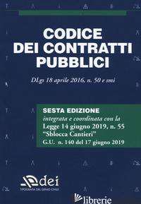 CODICE DEI CONTRATTI PUBBLICI - AA.VV.