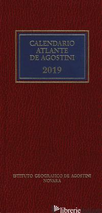 CALENDARIO ATLANTE DE AGOSTINI 2019. CON APPLICAZIONE ONLINE - AA.VV.