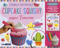 COLORA IL TUO SPECIALE CUPCAKE SQUISHY SUPER TENERINO. CON GADGET -