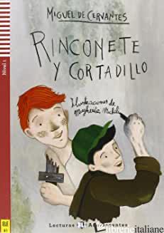 RINCONETE Y CORTADILLO. CON CD AUDIO. CON ESPANSIONE ONLINE - CERVANTES MIGUEL DE
