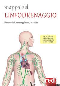 MAPPA DEL LINFODRENAGGIO. PER MEDICI, MASSAGGIATORI, ESTETISTI - AA.VV.