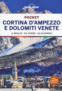 CORTINA D'AMPEZZO E DOLOMITI VENETE. CON CARTA GEOGRAFICA RIPIEGATA - AA.VV.