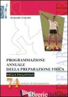 PROGRAMMAZIONE ANNUALE DELLA PREPARAZIONE FISICA NELLA PALLAVOLO. 74 SEDUTE DI A - CONTADIN ALESSANDRO
