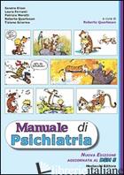 MANUALE DI PSICHIATRIA - QUARTESAN R. (CUR.)