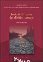 LEZIONI DI STORIA DEL DIRITTO ROMANO - CRIFO' GIULIANO