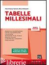 TABELLE MILLESIMALI - TORTORICI GIAN VINCENZO