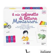 MIO COFANETTO DI LETTURA MONTESSORI. CON CARTE (IL) - KIRCHNER MARIE