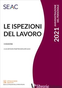 ISPEZIONI DEL LAVORO (LE) - SGRO' M. (CUR.)