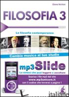 FILOSOFIA. RIASSUNTO DA LEGGERE E ASCOLTARE. CON FILE MP3. VOL. 3: LA FILOSOFIA  - NICHINI ELENA