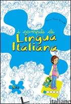 COMPITI DI LINGUA ITALIANA. PER INIZIARE. PER LA 1ª CLASSE ELEMENTARE (I) - GANDOLFI ANNA MARIA