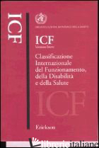 ICF VERSIONE BREVE. CLASSIFICAZIONE INTERNAZIONALE DEL FUNZIONAMENTO, DELLA DISA - ORGANIZZAZIONE MONDIALE DELLA SANITA' (CUR.)
