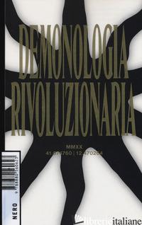 DEMONOLOGIA RIVOLUZIONARIA - GRUPPO DI NUN (CUR.)