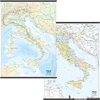 ITALIA SCOLASTICA (FISICO-POLITICA) 1:1.125.000 - BELLETTI