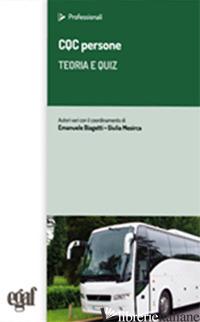 CQC COSE. TEORIA E QUIZ - BIAGETTI E. (CUR.); MESIRCA G. (CUR.)