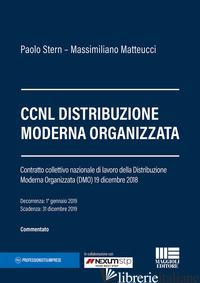 CCNL DISTRIBUZIONE MODERNA ORGANIZZATA - MASCIOCCHI PIERPAOLO