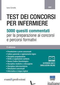 TEST DEI CONCORSI PER INFERMIERE - CERVELLA IVANO