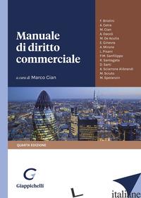 MANUALE DI DIRITTO COMMERCIALE - CIAN M. (CUR.)