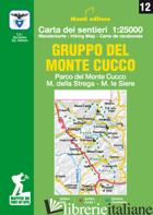GRUPPO DEL MONTE CUCCO. PARCO DEL MONTE CUCCO, M. DELLA STREGA, M. LE SIERE. CAR - MONTI RAFFAELE