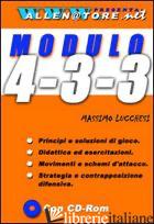 MODULO 4-3-3. CON CD-ROM - LUCCHESI MASSIMO