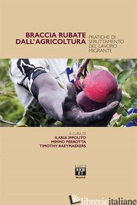 BRACCIA RUBATE DALL'AGRICOLTURA. PRATICHE DI SFRUTTAMENTO DEL LAVORO MIGRANTE - IPPOLITO I. (CUR.); PERROTTA M. (CUR.); RAEYMAEKERS T. (CUR.)